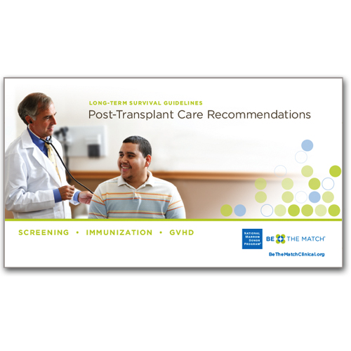 Post-Transplant Care Guidelines