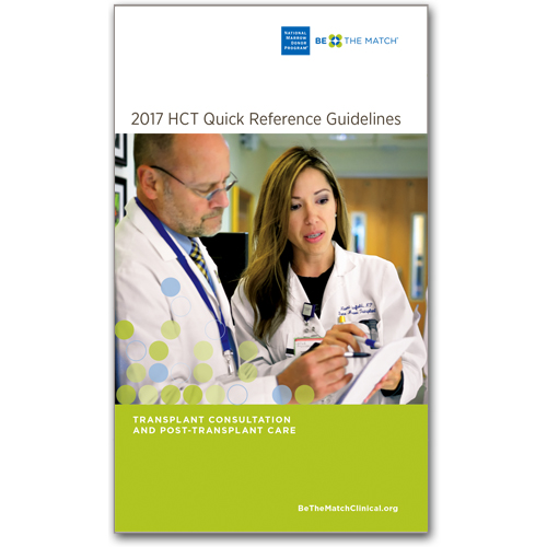 2017 Quick Reference HCT Guidelines kit